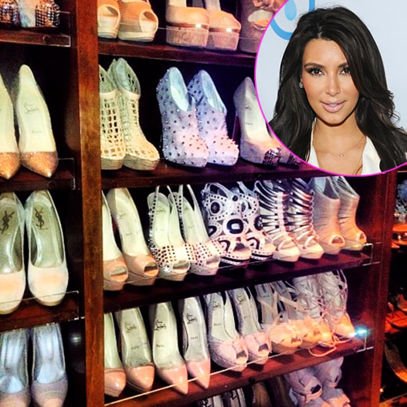 Inspiration Kim Kardashian 39 S Shoe Closet 5 Quick And
