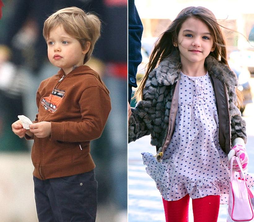 Pixie Cut Vs Long Tresses Shiloh Jolie Pitt Vs Suri