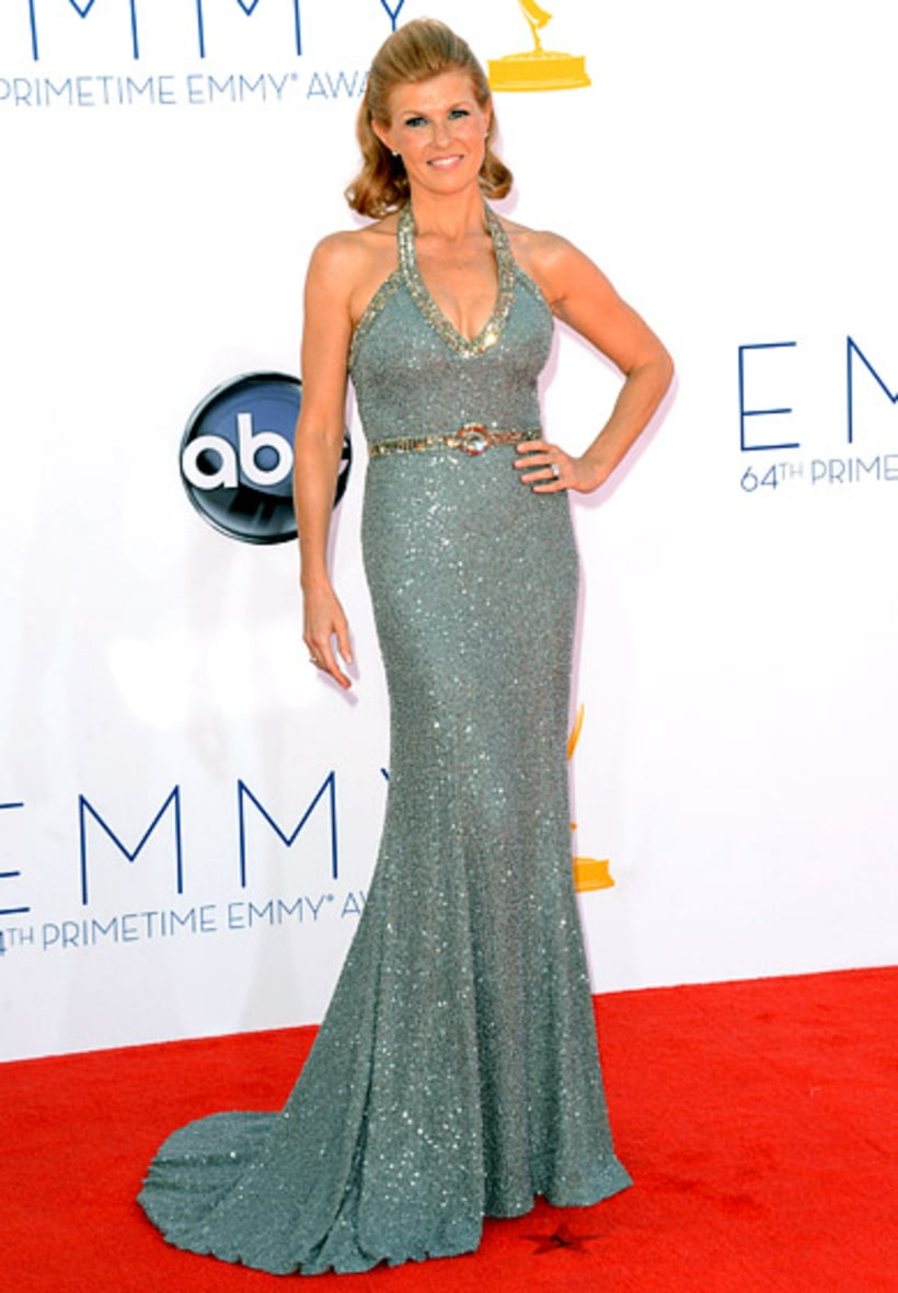 Connie Britton 2012 Emmys What The Stars Wore Us Weekly