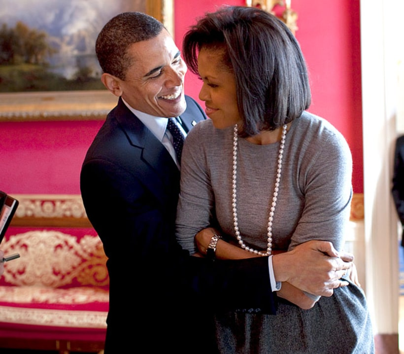 The 20 Year Wedding March: Barack Obama And Michelle Obama's 20th