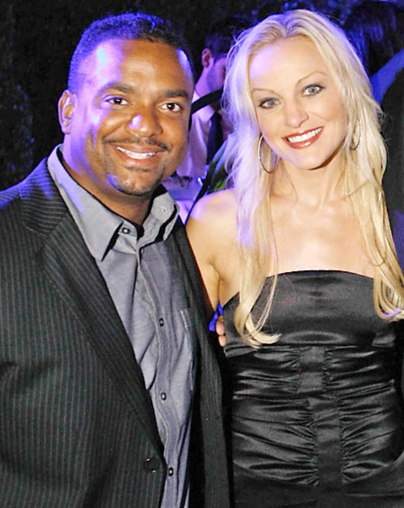 Alfonso Ribeiro and Angela Unkrich | Celebrity Weddings ...