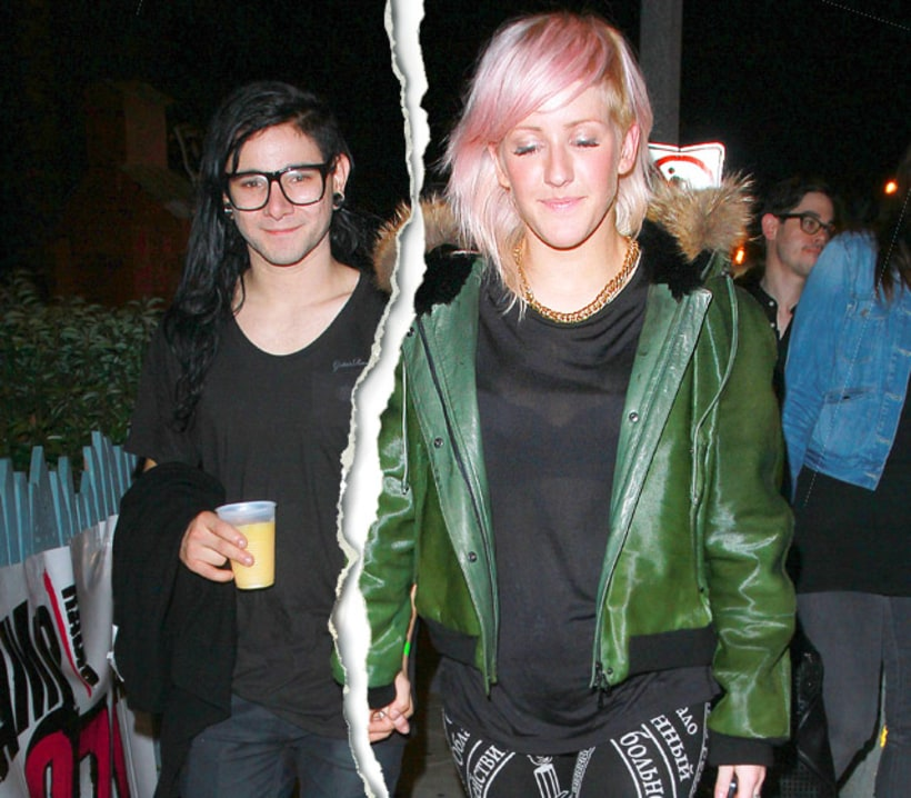 cl skrillex dating goulding