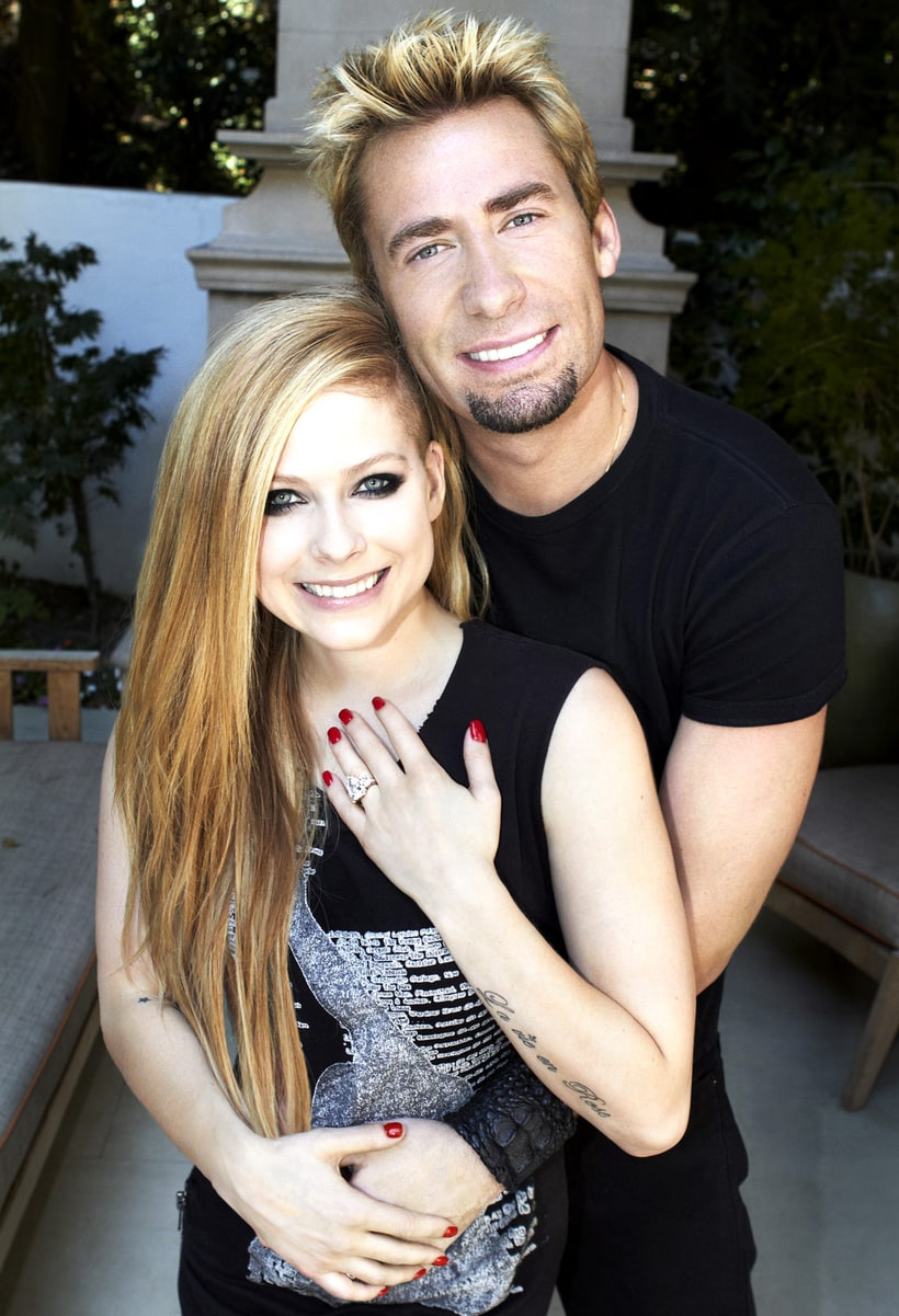 avril lavigne and chad kroeger 2012s celebrity