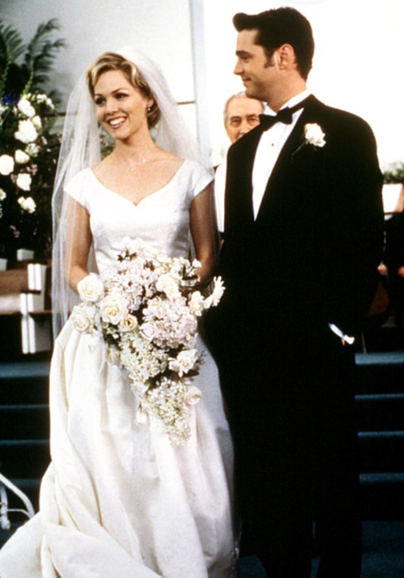 Jennie garth celebrity wedding dresses tv movies us for Beverly hills wedding dresses