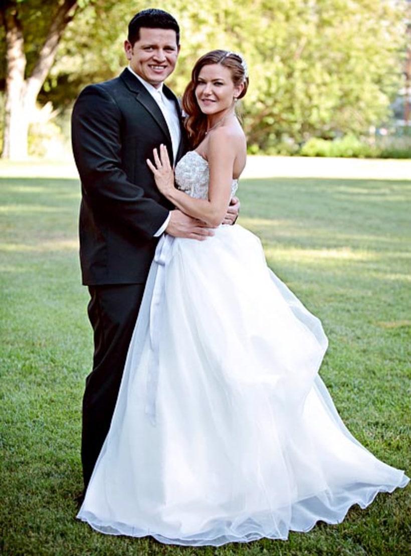 alicia lagano and hector rendon celebrity weddings 2013
