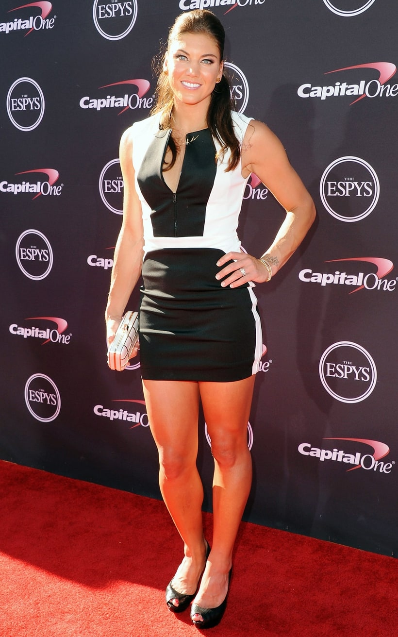 Hope Solo | ESPY Awards 2013 Red Carpet Dresses: What the ...