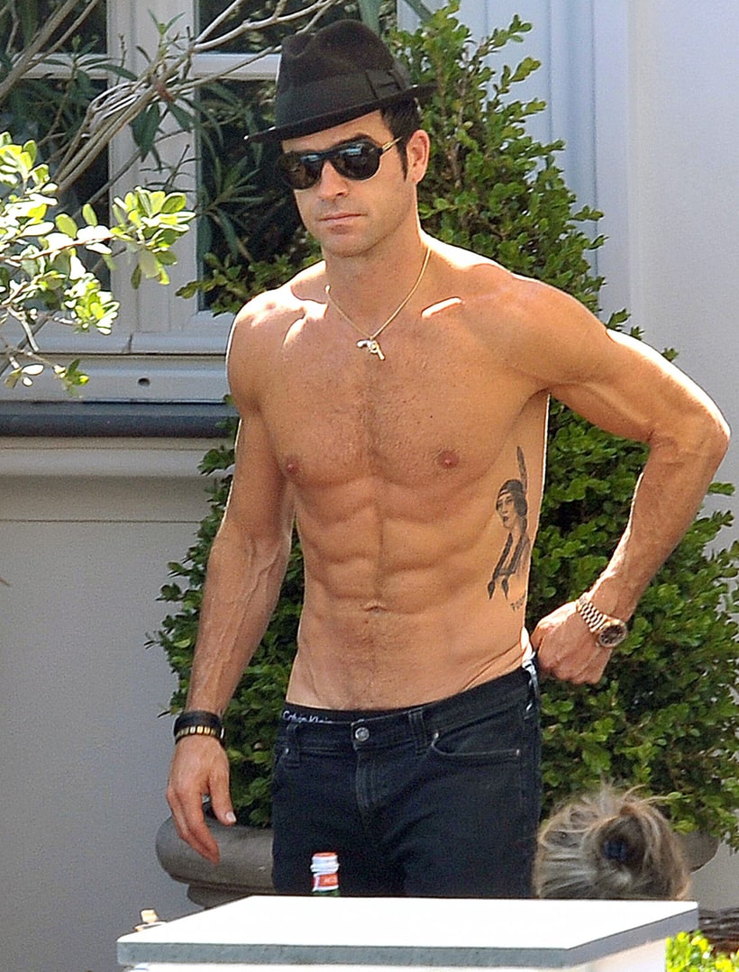 Justin Theroux   Shirtless Hunks: Hot Celebs and Their