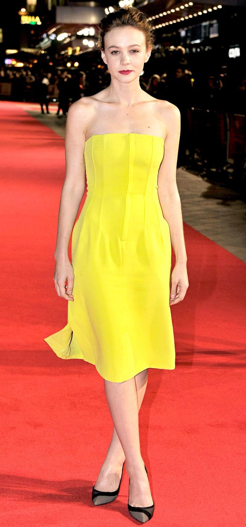 Carey Mulligan: Inside Llewyn Davis premiere at 57th BFI ...
