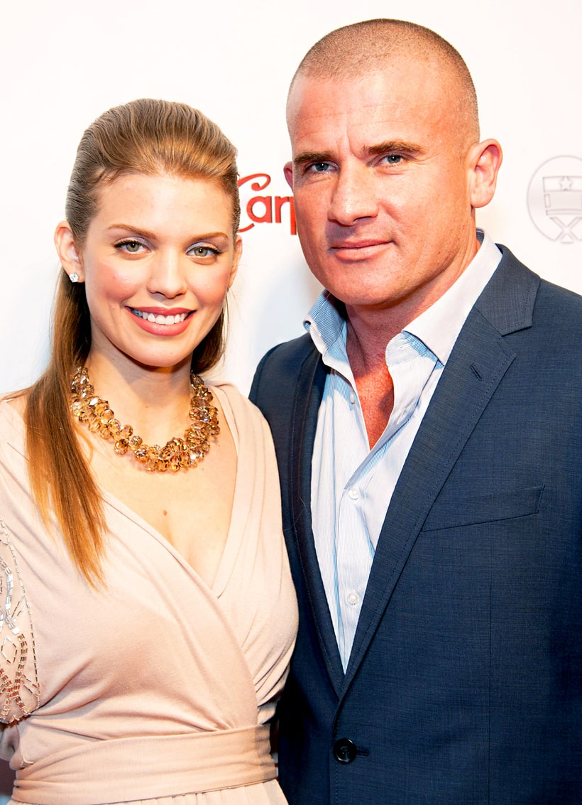 AnnaLynne McCord and Dominic Purcell | Unlikely Celebrity ... Dominic Purcell And Annalynne Mccord