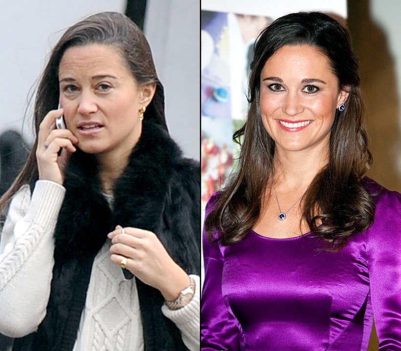 Pippa Middleton Natural Beauty Stars Without Makeup