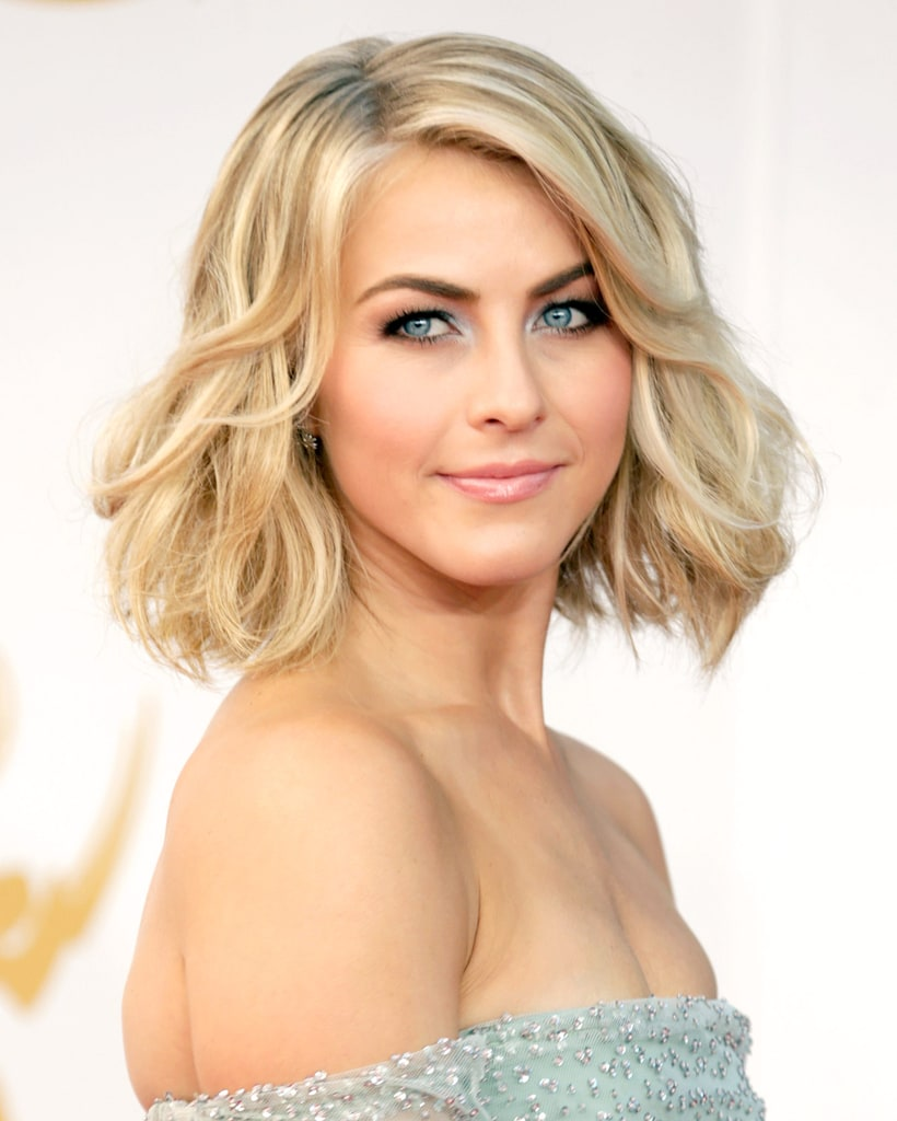 Julianne Hough Celebs With Bob Hairstyles Us Weekly