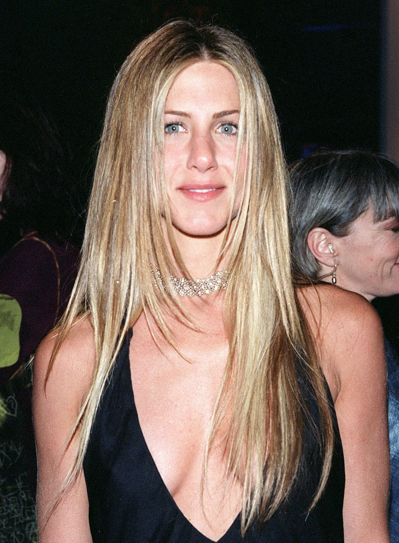march 2000 jennifer anistons hair evolution us weekly