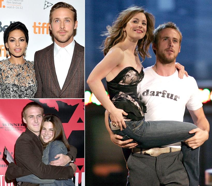 Ryan Gosling and Sandra Bullock/Rachel McAdams/Eva Mendes ...  Ryan Gosling an...