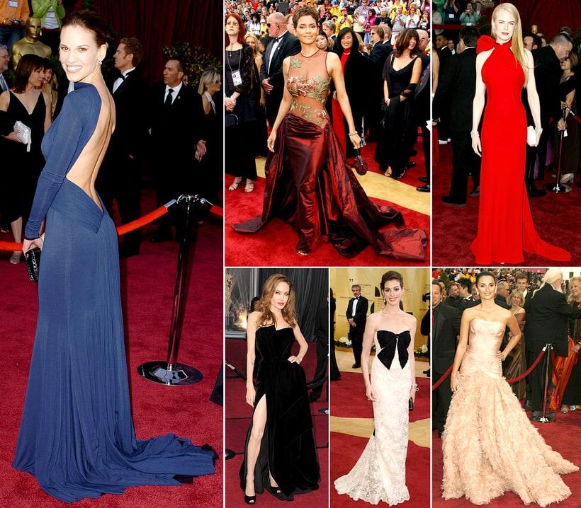 Celebrity Oscar Dresses | Oscars: Stars' Looks Through the ...