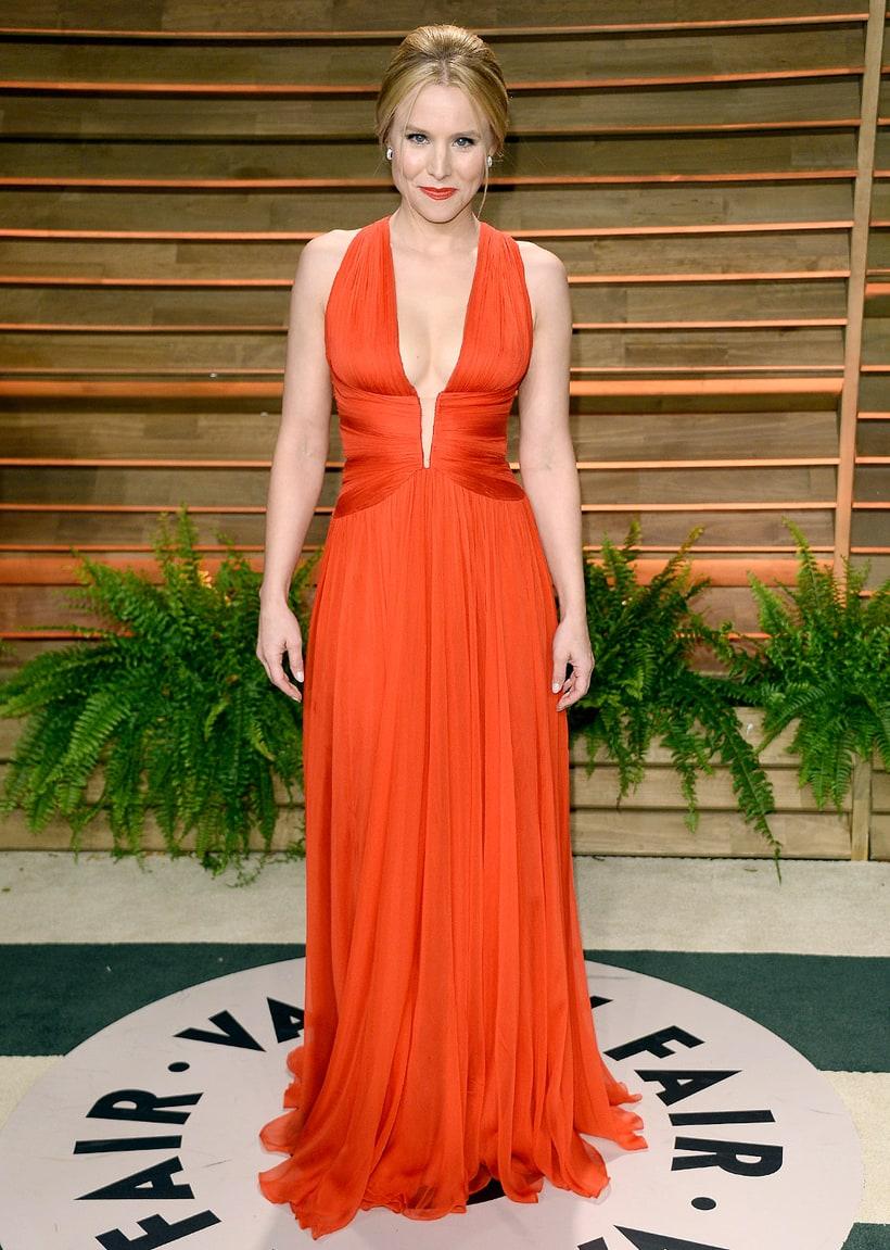 Kristen Bell 2014 Vanity Fair Oscar Party Vanity Fair