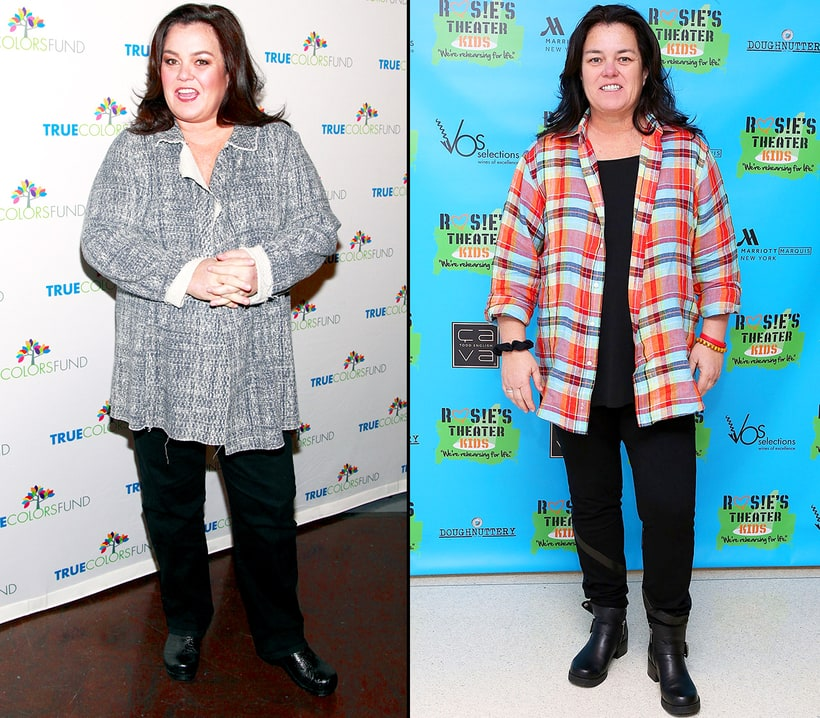 Rosie O'Donnell 50 pounds | Celebrities' Weight Loss and ...