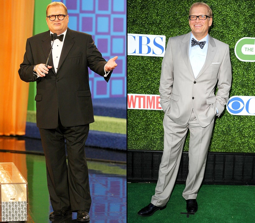drew carey 70 pounds celebrities weight loss and