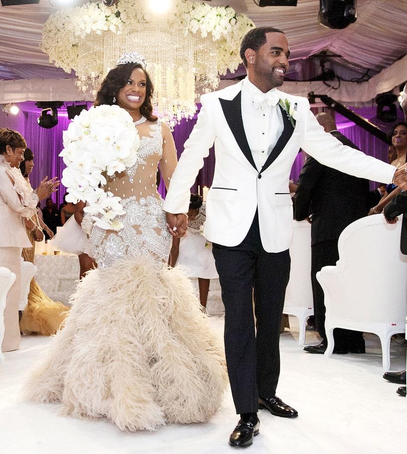 kandi burruss and todd tucker celebrity weddings 2014