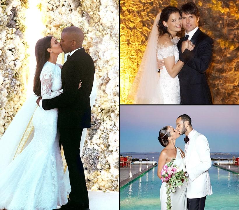 Celebrity Wedding Locations: Stars' Exotic Destination Weddings
