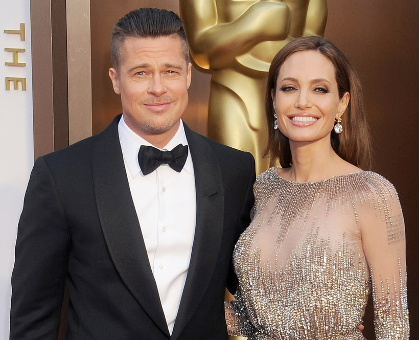brad pitt and angelina jolie celebrity couples and how