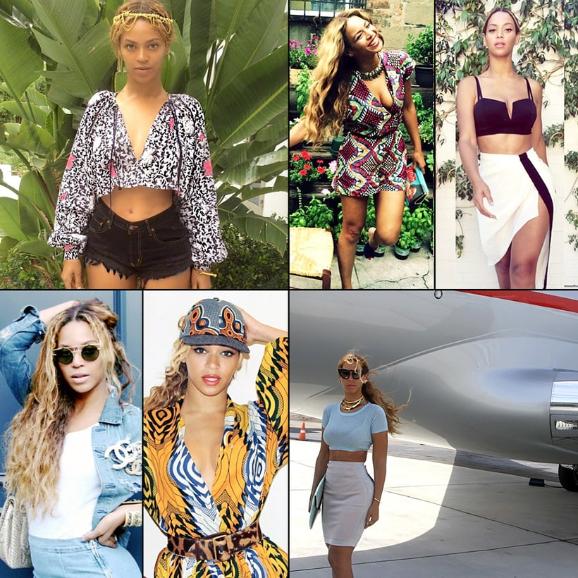 Beyonce 39 s best instagram style beyonce 39 s best instagram for Style at home instagram