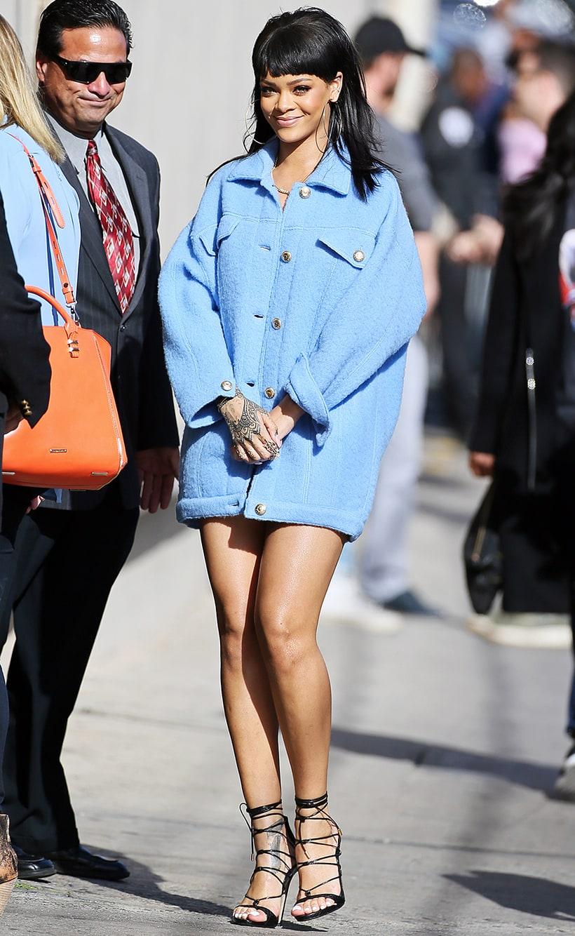 Rihanna New Prankster Queen Hot Pics Us Weekly