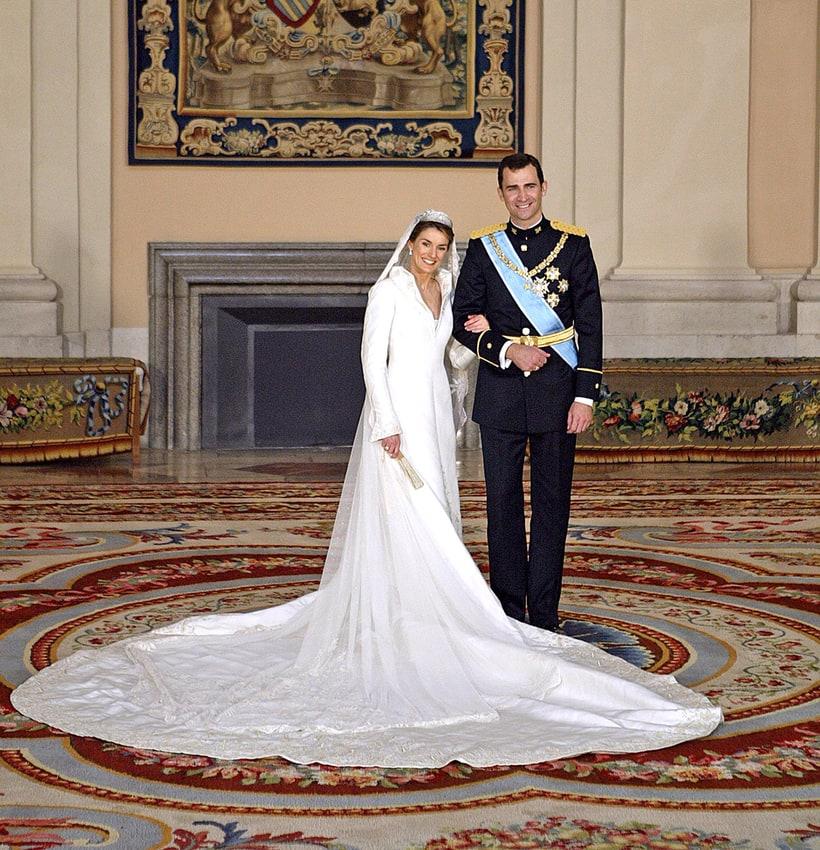 Queen Letizia of Spain | Most Amazing Royal Wedding ... - photo#35