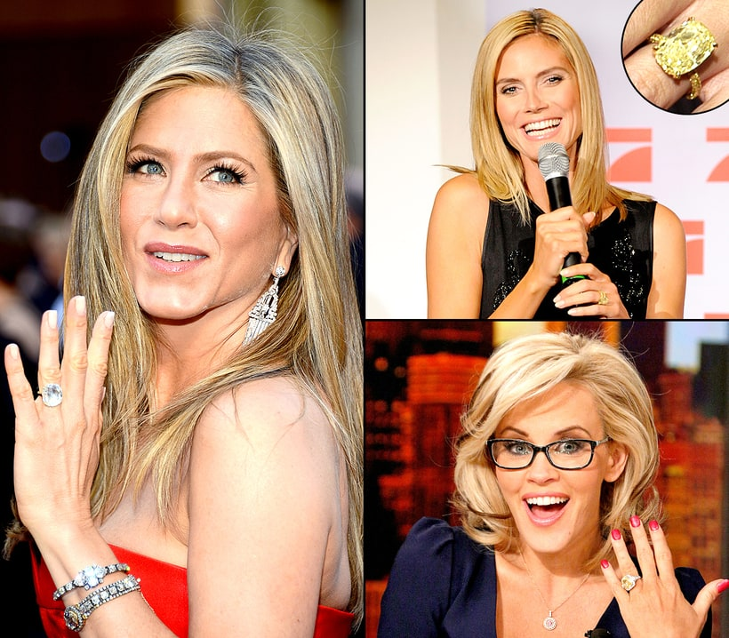 52 of the Most Expensive Celebrity Engagement Rings - MSN