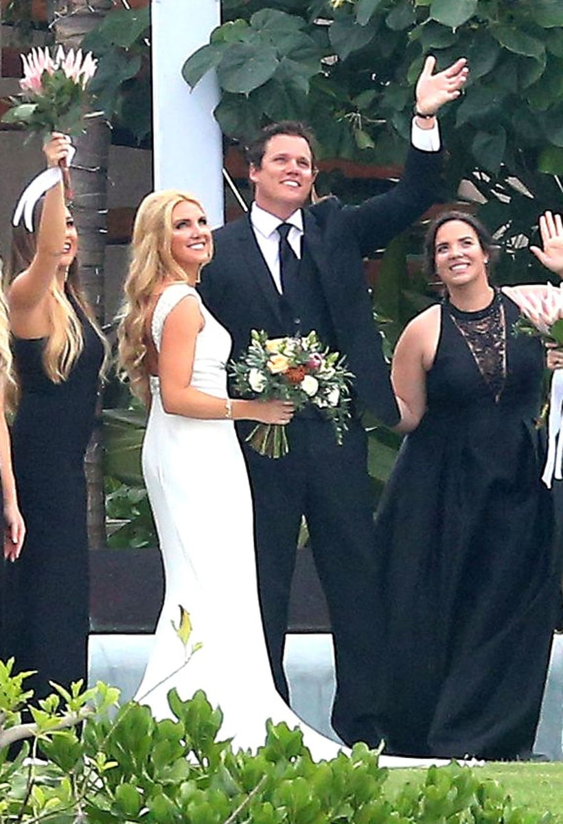 Bob Guiney And Jessica Canyon Celebrity Weddings 2016
