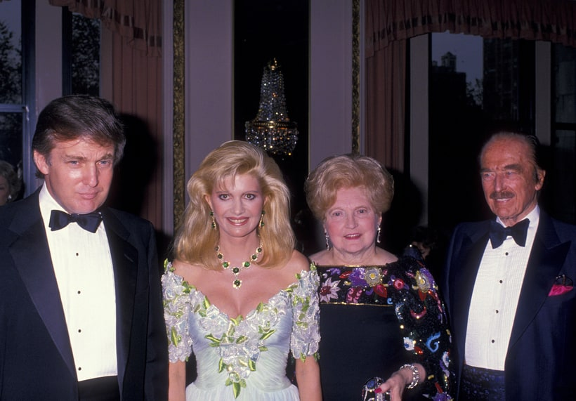 Ivana, Anne Trump Mary Donald and Fred |  Trump