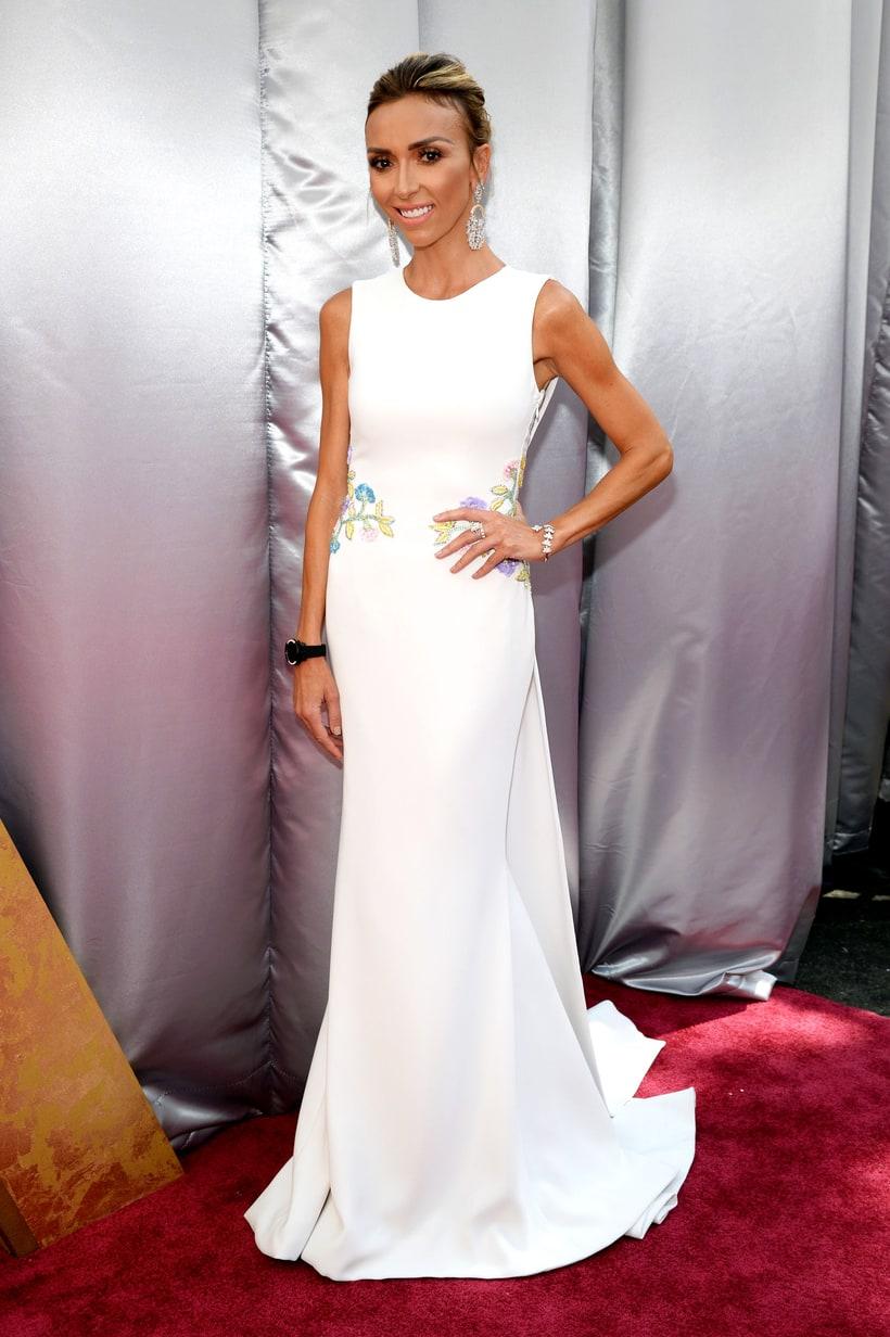 Giuliana Rancic Dress On Fashion Police Tonight