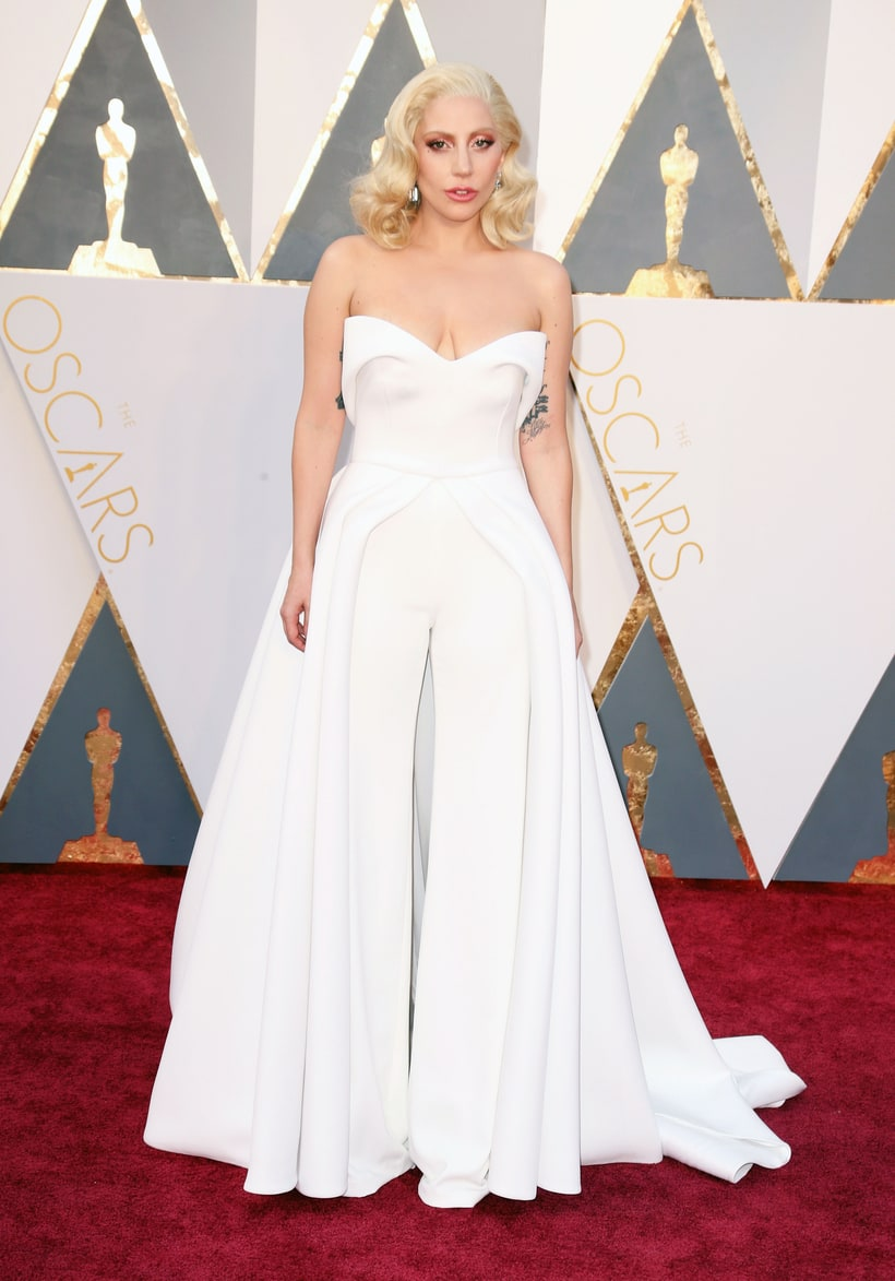 lady gaga oscars 2017 - photo #8