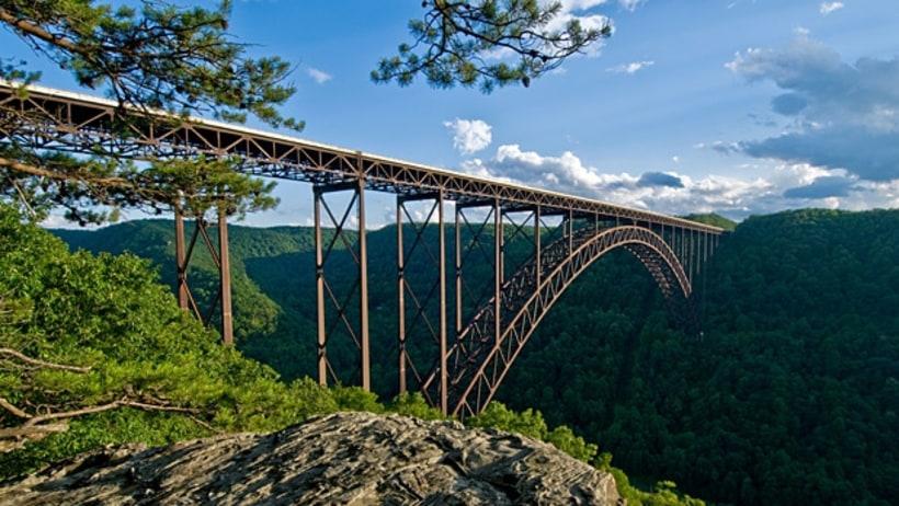 West Virginia Climb A Bridge 50 Great American Places
