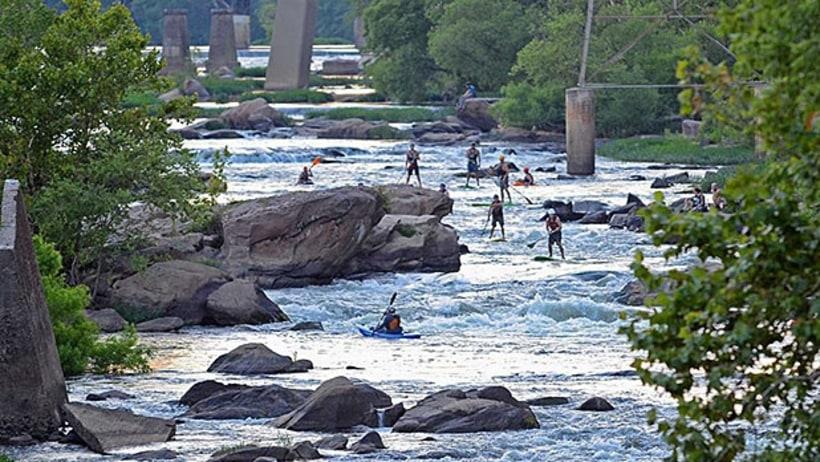 James river richmond va america 39 s 10 best urban for Plenty of fish richmond va