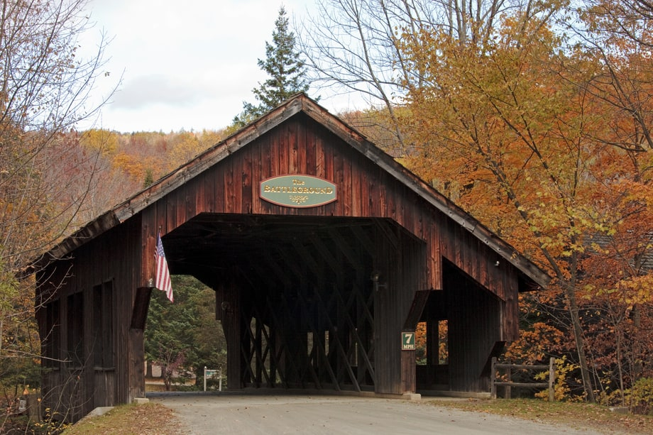 Route 100 Mad River Valley To Warren Vermont The 25