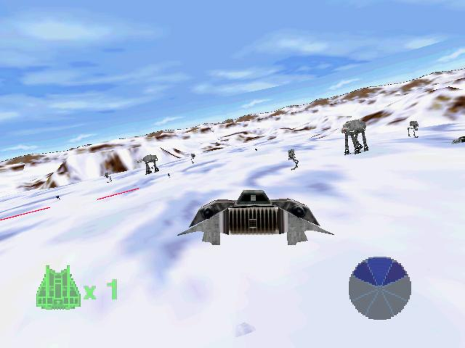 Buying a Nintendo 64 just for the Hoth level