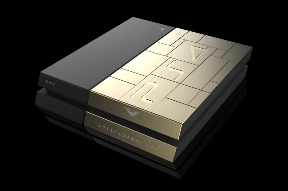 Yellow Gold PS4
