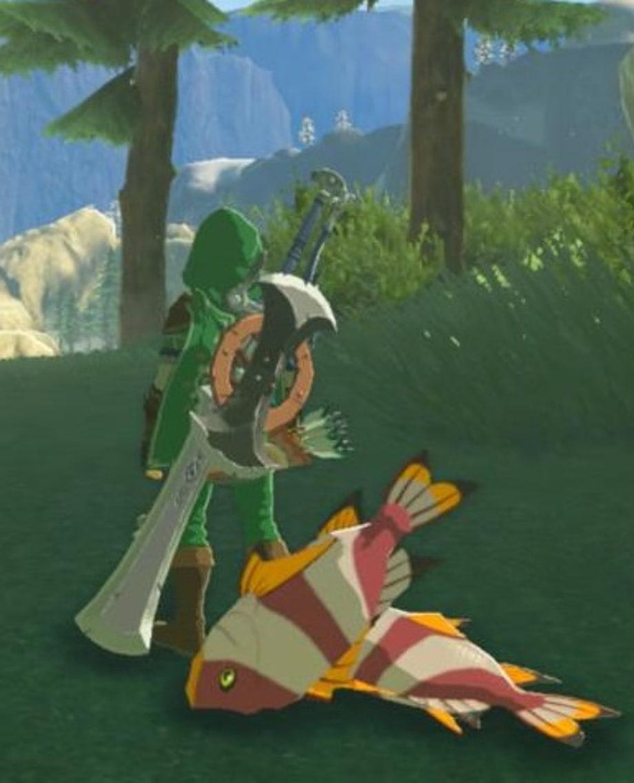 Mighty Porgy | 'The Legend of Zelda: Breath of the Wild