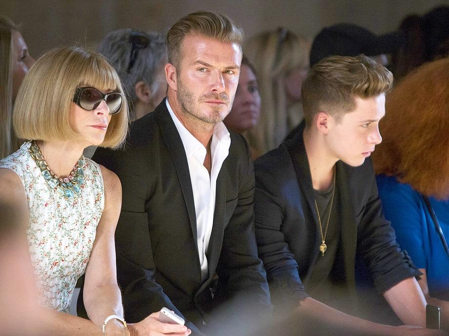 David Beckham Model Son