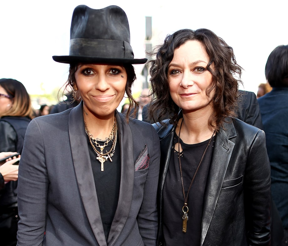 Sara Gilbert and wife