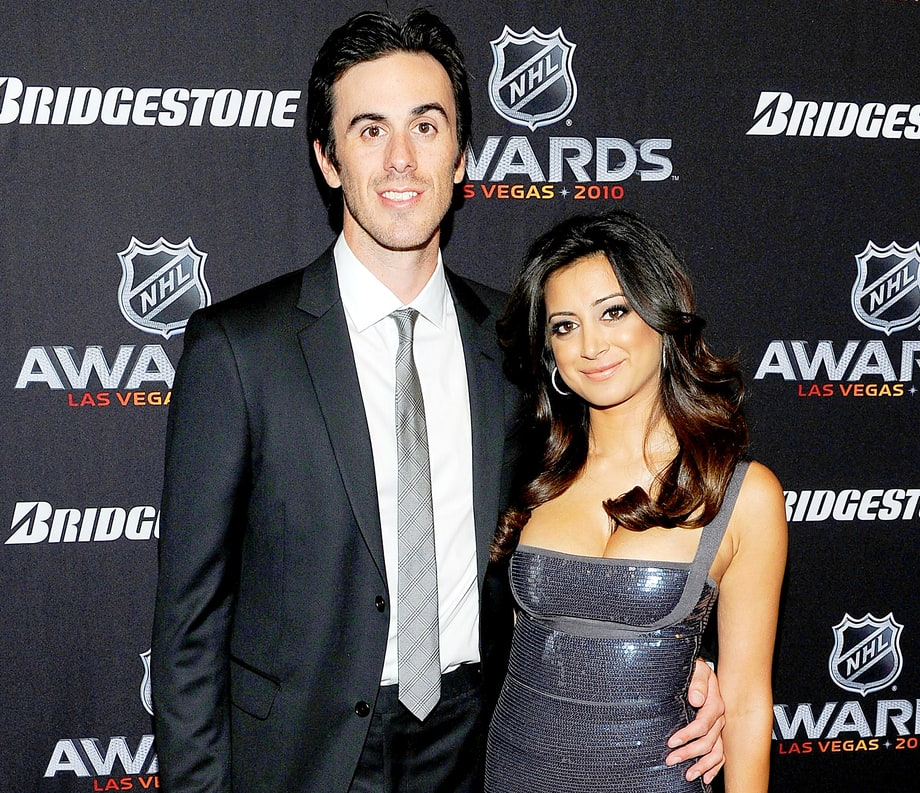 Noureen DeWulf and husband