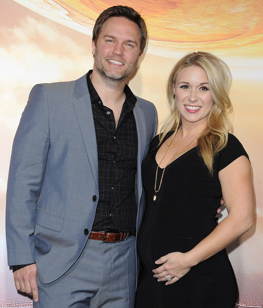 Scott Porter and wife