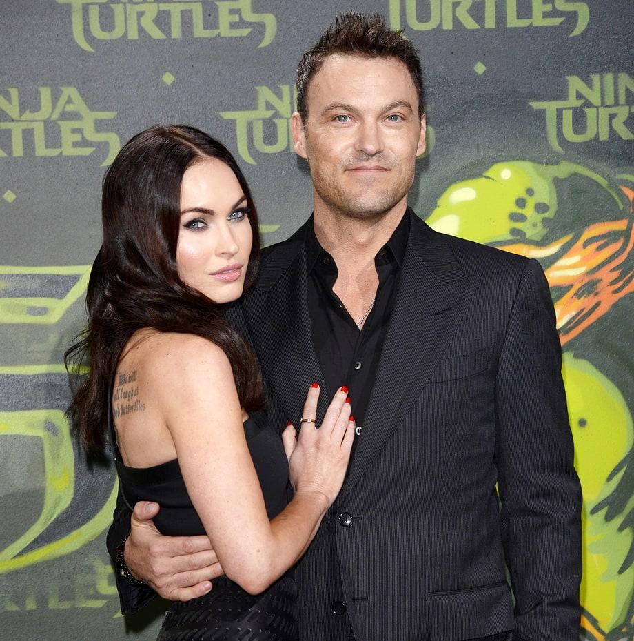 Megan Fox and husband