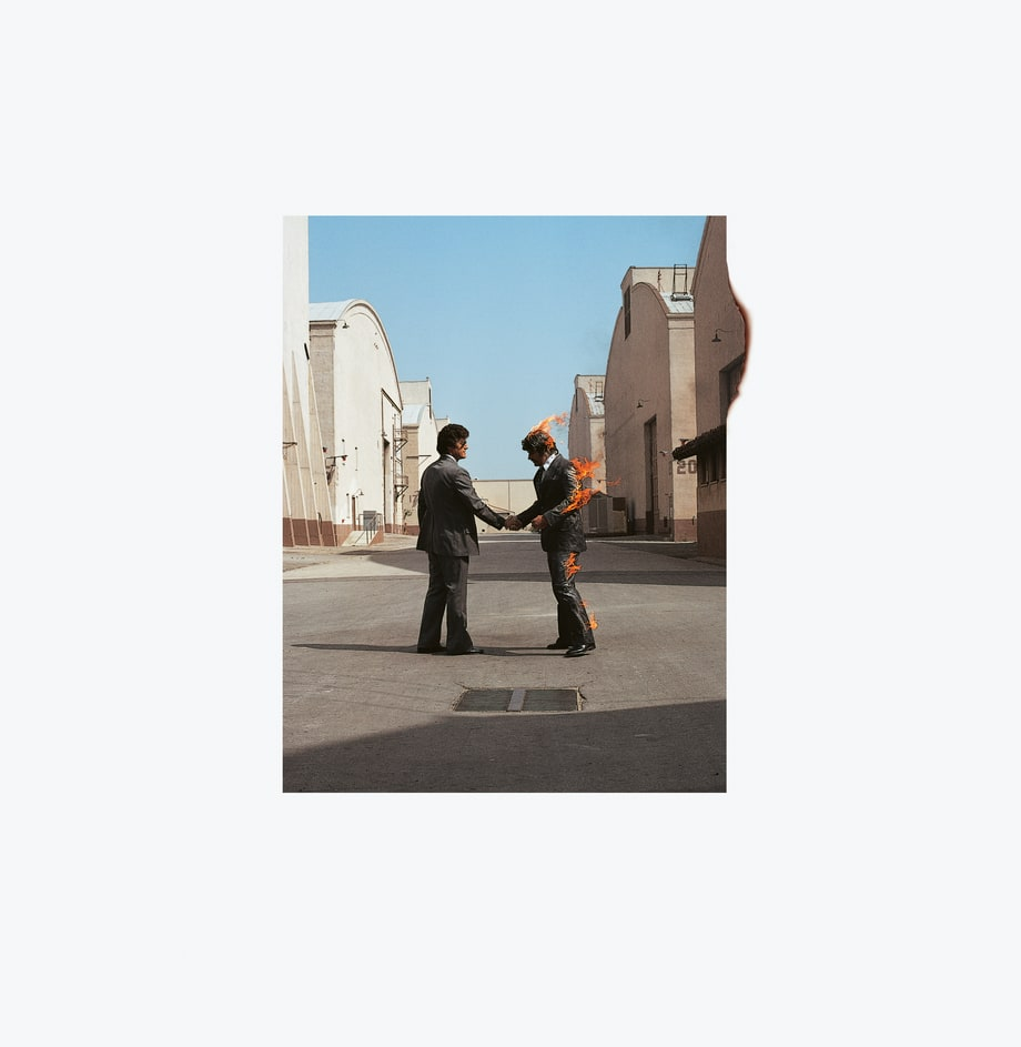 Pink Floyd Wish You Were Here 1975 Hipgnosis Life
