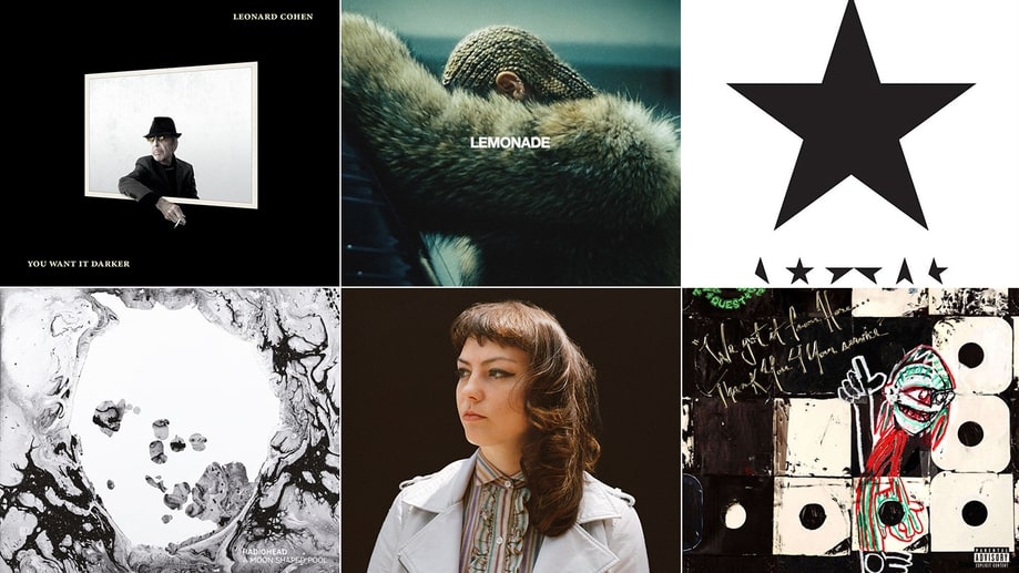 Rob Sheffield's Top 20 Albums of 2016