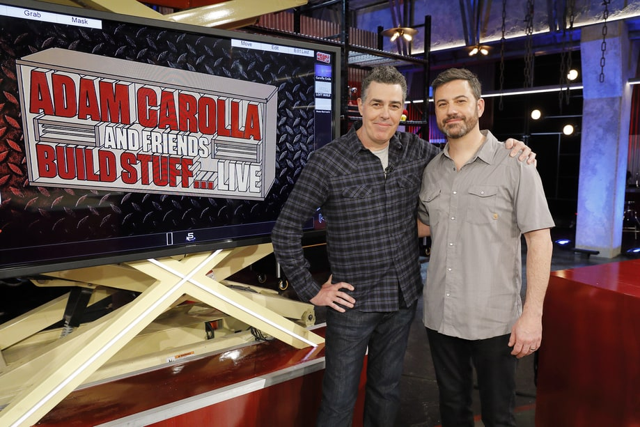 Tues, 4/4: Adam Carolla and Friends Build Stuff Live