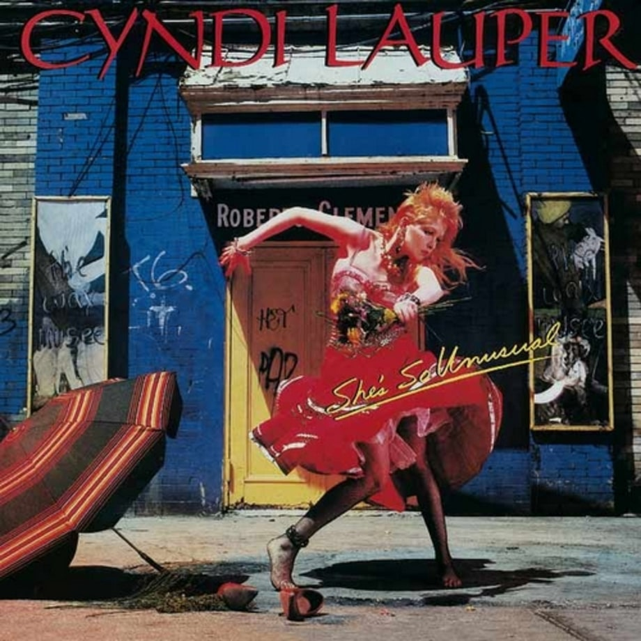 Cyndi Lauper ,'She's So Unusual'