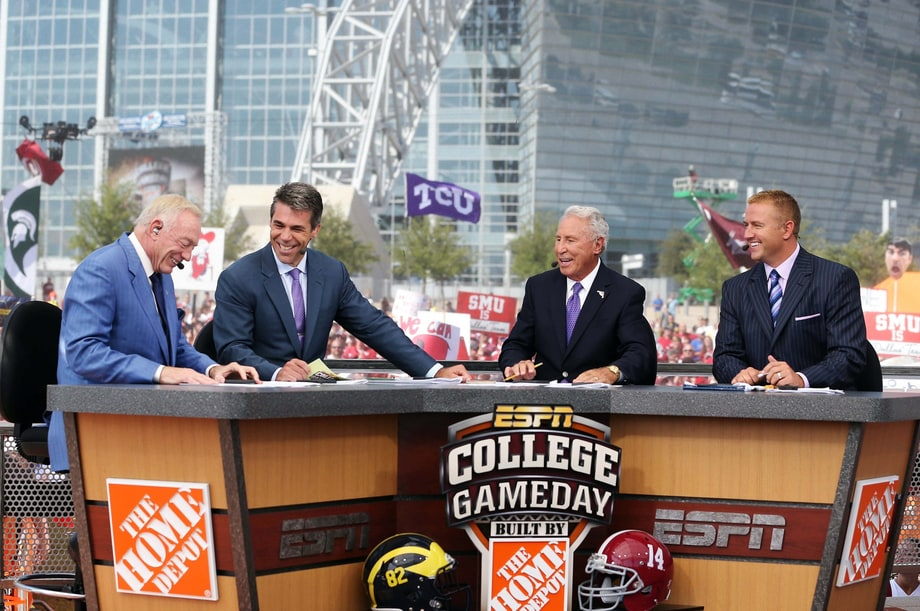Sat 10/15: College GameDay: Wisconsin vs. Ohio State (ESPN)