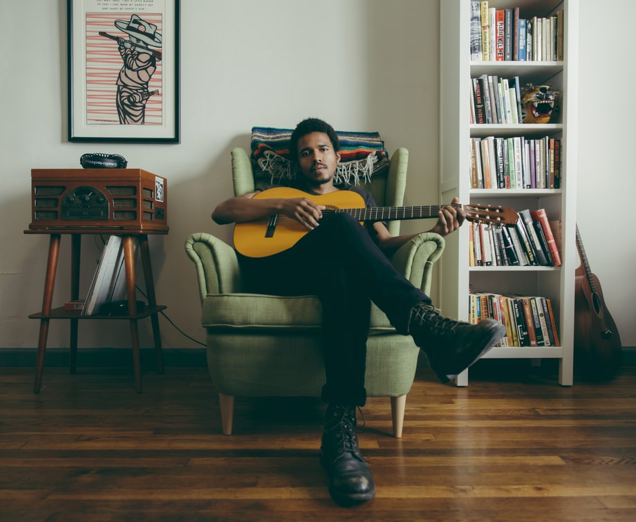 Benjamin Booker's L.A. Punk Chic Style: See His Most Prized Possessions at Home