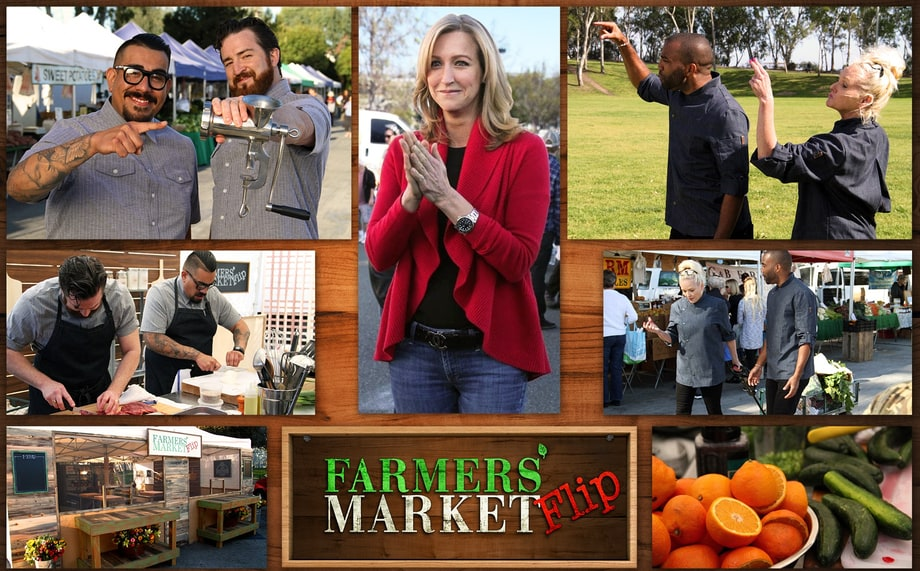 Thurs, 4/20: Farmers' Market Flip (Cooking Channel)
